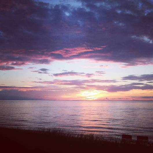 Herbster Beach Sunset