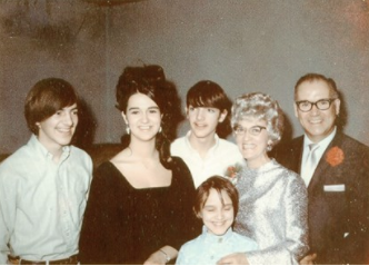 Author's family, circa 1969